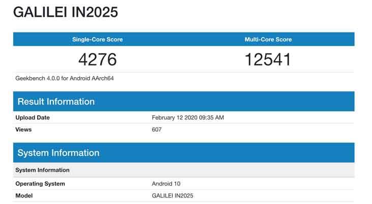 เผย!! คะแนน OnePlus 8 มาพร้อมสเปก Snapdragon 865 ผ่านแอป Geekbench