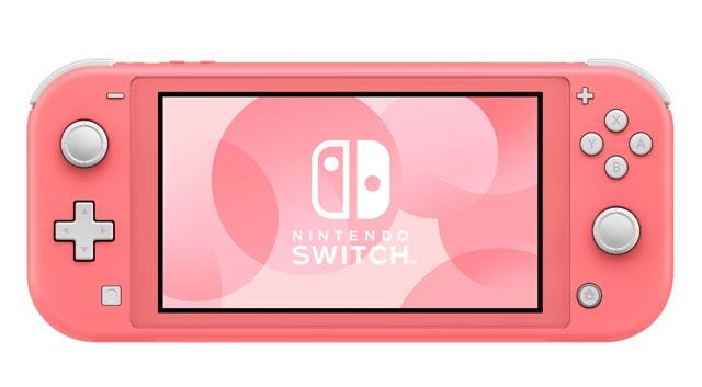 Nintendo เปิดตัว Switch Lite Coral สีชมพูสุดหวาน ในเดือนเมษายนนี้