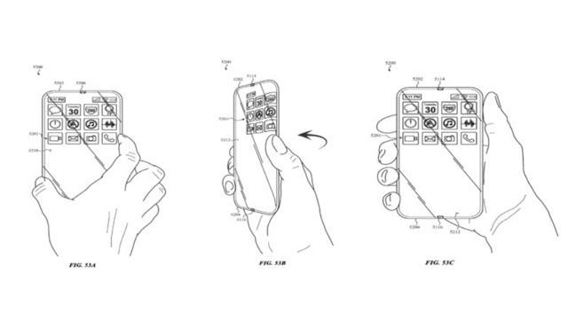 Apple ยื่นจดสิทธิบัตรใหม่ มีหน้าจอแสดงผลสัมผัสรอบตัวเครื่อง ไร้ปุ่มกดไร้พอร์ต