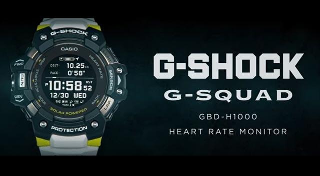 Casio เปิดตัวนาฬิกา G-Shock รุ่น GBD-H1000 สำหรับสายออกกำลังกายโดยเฉพาะ