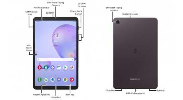 หลุด!! ภาพเรนเดอร์ Samsung Galaxy Tab A 8.4 แท็บเล็ตรุ่นใหม่ปี 2020