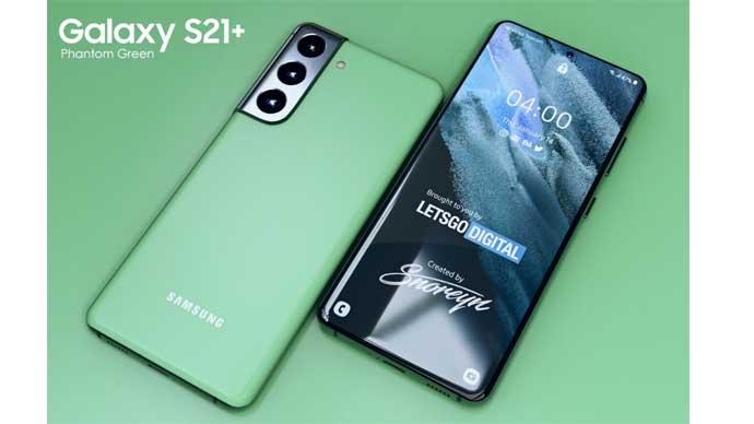 เว็บไซต์ Samsung Australia เผลอหลุด!! สีใหม่ของ Samsung Galaxy S21+ สีเขียว Phantom Green