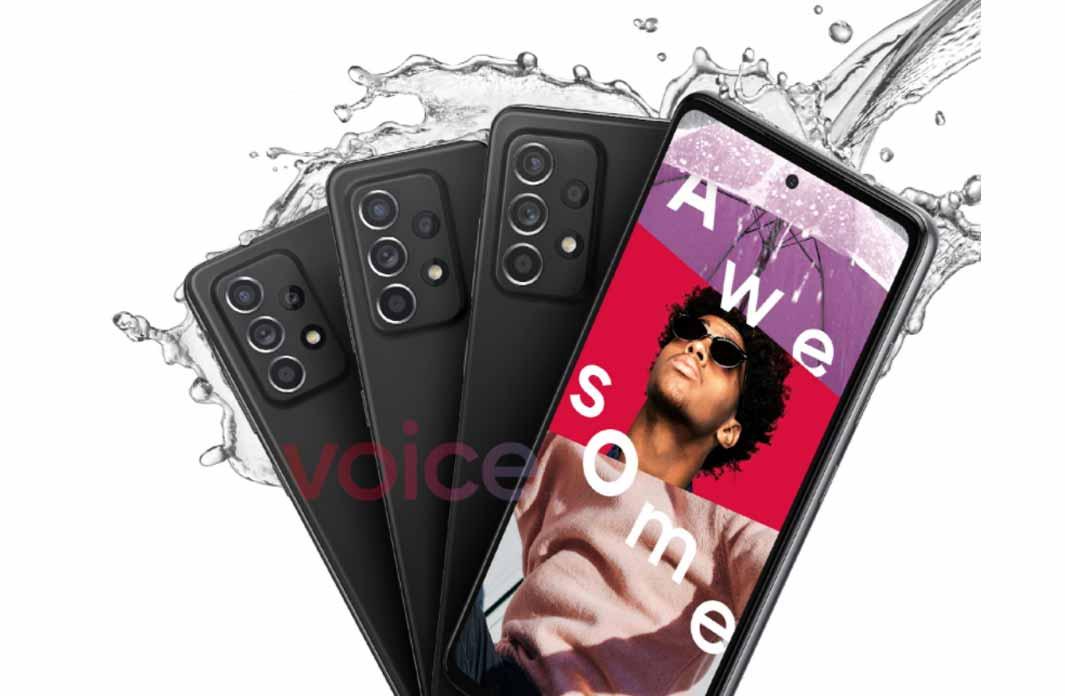 เผย!! ภาพทีเซอร์ทางการล่าสุดของ Samsung Galaxy A52 (5G) ยืนยันว่าสมาร์ทโฟนรุ่นนี้สามารถกันน้ำได้