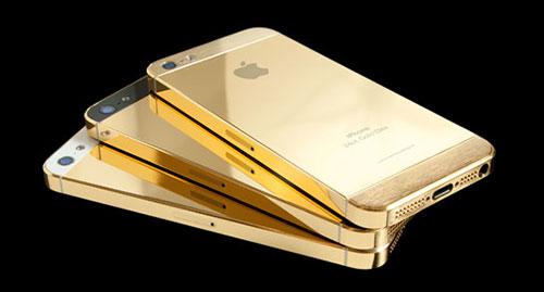 อัพเดทข่าวสาร iPhone 5S กับตัวเคสแบบใหม่สีทอง ??