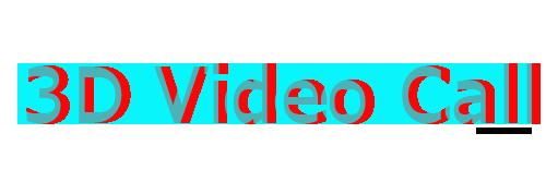 3D Video Call
