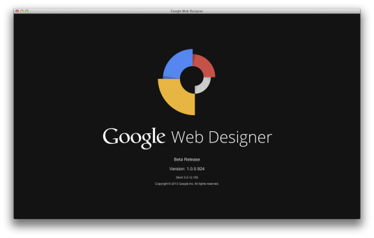Google Web Designer โปรแกรมออกแบบเว็บไซต์จากทาง Google เอง