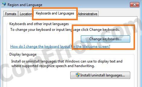 วิธีแก้แถบ Language Bar หาย