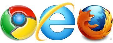 คีย์ลัดที่ใช้ใน IE,Firefox และ Chrome