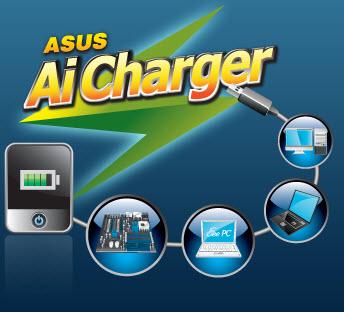 ชาร์จแบตโทรศัพท์ได้เต็มเร็วขึ้นด้วย  ASUS Ai Charger