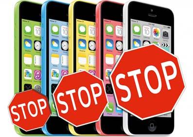 Apple ลดการผลิต iPhone 5C ให้น้อยลงกว่าเดิม !!!!!