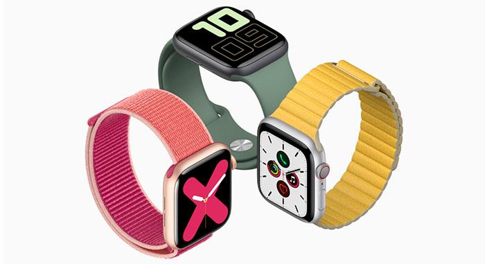 Apple Watch Series 5 มาพร้อมหน้าจอ Retina ติดสว่างตลอดเวลา และมีเข็มทิศในตัว
