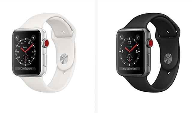 Apple Watch Series 3 ปรับราคาลดลง อย่างเป็นทางการ