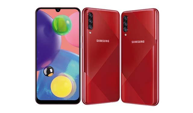 เปิดตัวอย่างเป็นทางการ Samsung Galaxy A70s ดีไซน์ใหม่ มาพร้อมกับกล้อง 64 MP