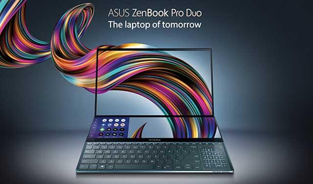 Asus เปิดตัว ZenBook Pro Duo โน้ตบุ๊กสองจอตัวท็อป จอสัมผัสแบบใหม่