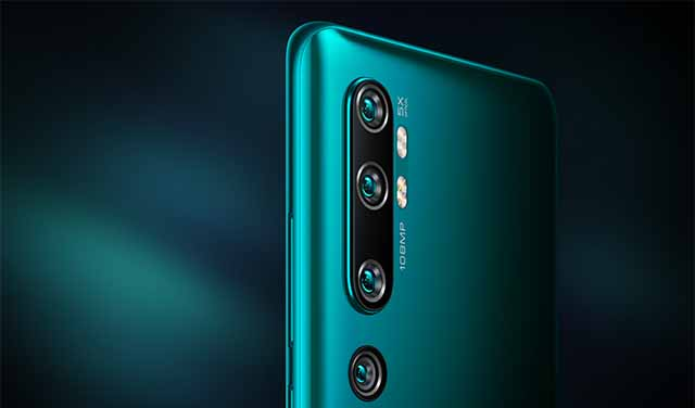 Xiaomi เปิดตัว Mi CC9 Pro (Mi Note 10) สมาร์ทโฟนกล้องความละเอียด 108 ล้านพิกเซล