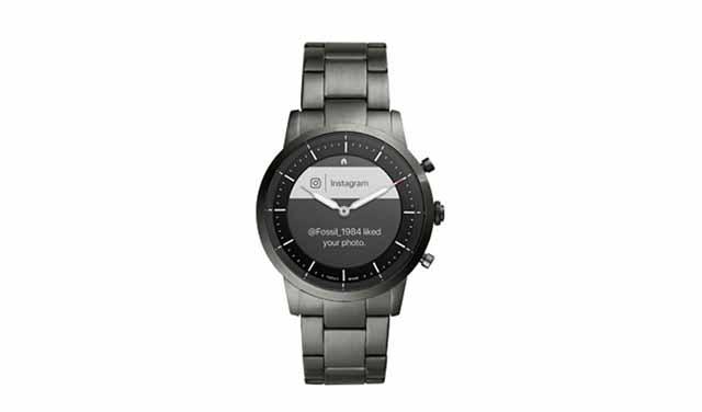 เปิดตัว Hybrid HR smartwatch ของ Fossil มาพร้อมกับหน้าปัดแบบอนาล็อกและหน้าจอ e-ink