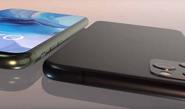นักออกแบบเผยคลิบคอนเซ็ป iPhone 12 Pro หน้าจอเต็มขอบ และมี 4 กล้องหลัง