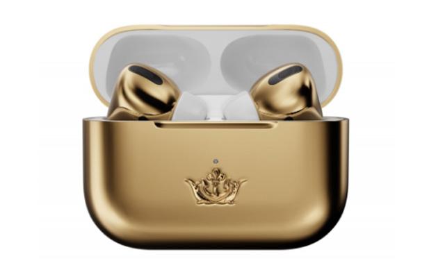 Airpods Pro จาก Caviar หุ้มด้วยทองคำ เปรียบเสมือนตุ้มหูราคาแพงที่มีเสียงเพลง