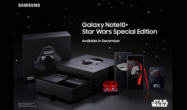 Samsung เปิดตัว Galaxy Note10+ รุ่นพิเศษ Star Wars Special Edition