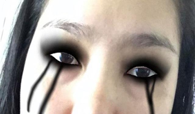 ฮิตสุด!! ฟิลเตอร์น้ำตาสีดำ แบบตัวละครในเกม Death Stranding ลูกเล่นใหม่บน Instagram