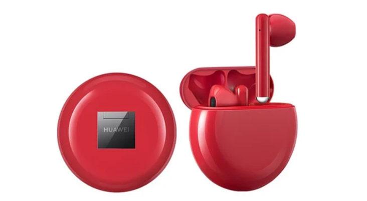 Huawei FreeBuds 3 เปิดตัวรุ่นพิเศษสีแดง ในประเทศจีน