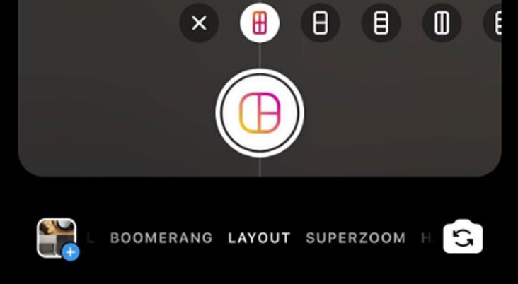 Instagram เพิ่มฟีเจอร์ Layout ให้สามารถอัปโหลดรูปภาพหลายๆ รูปให้อยู่ในโพสต์เดียวกัน ลงใน Story ได้