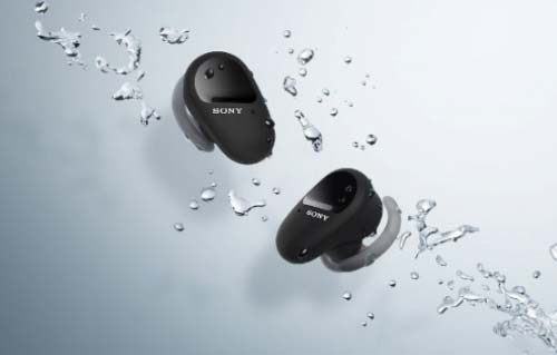 Sony เปิดตัวหูฟังไร้สาย WF-SP800N มาพร้อมกับ ANC และแบตเตอรี่นานสูงสุด 26 ชั่วโมง
