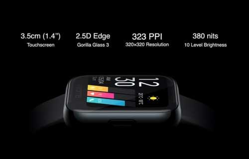 Realme Watch เปิดตัวอย่างเป็นทางการ มาพร้อมหน้าจอสี touchscreen , แบตเตอรี่ใช้งานได้นานถึง 9 วัน และอื่นๆอีกเพียบ