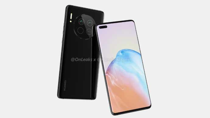 เผย!! ภาพเรนเดอร์ของ Huawei Mate 40 และ Huawei Mate 40 Pro มาพร้อมหน้าจอ Waterfall Display , กล้องหน้าแบบเจาะรู และกล้องหลังทรงกลม