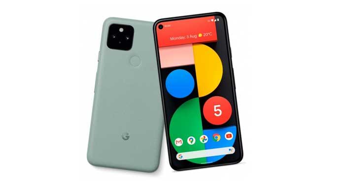 หลุด!! ภาพเรนเดอร์ของ Google Pixel 5 มาในสีใหม่ สีเขียวมิ้นต์ Mint Green