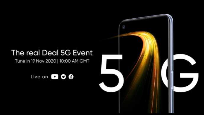 เตรียมเปิดตัวสมาร์ทโฟน Realme 7 (5G) อย่างเป็นทางการในวันที่ 19 พฤศจิกายน 2020 นี้ที่อังกฤษ
