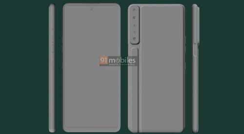 เผย!! ภาพเรนเดอร์ CAD ของสมาร์ทโฟน LG Stylo 7