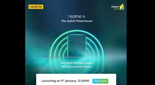 Realme เปิดตัว Realme 5i อย่างเป็นทางการในประเทศอินเดีย 9 มกราคม นี้