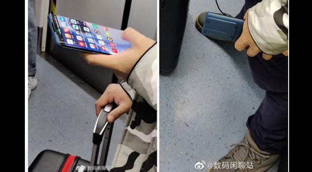 หลุดภาพจริงของ Huawei P40 Pro ภาพแรก