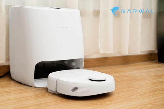 สุดเจ๋ง Narwal T10 หุ่นยนต์ดูดฝุ่นและถูพื้น มาพร้อมฟังชั่นสามารถทำความสะอาดตัวเองได้
