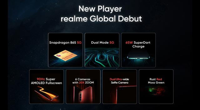 Realme ยืนยัน X50 Pro จะมีกล้องหลัง 4 ตัว พร้อมรองรับการซูมได้ถึง 20x