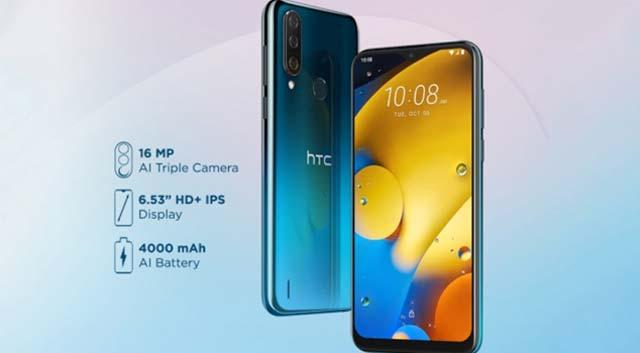 เปิดตัว HTC Wildfire R70 ด้วยกล้อง 3 ตัว และจอแสดงผล HD + ขนาด 6.53 นิ้ว อาจวางจำหน่ายในไทย