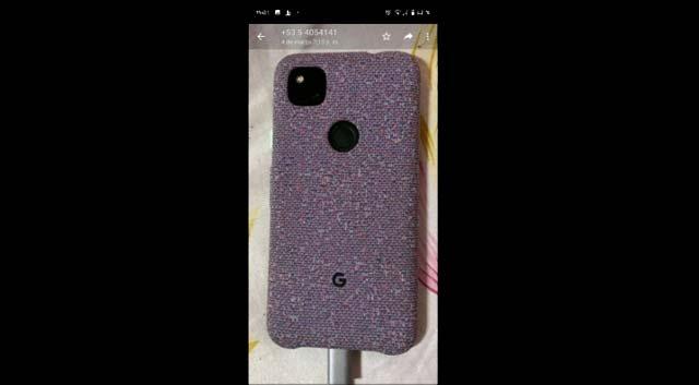 หลุดภาพเครื่องจริง Google Pixel 4a มาพร้อมกล้องหน้าแบบจอเจาะรู