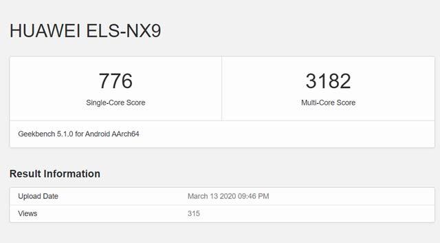 พบ Huawei P40 Pro (5G) โผล่บน Geekbench เตรียมเปิดตัววันที่ 26 มีนาคม 2020 นี้