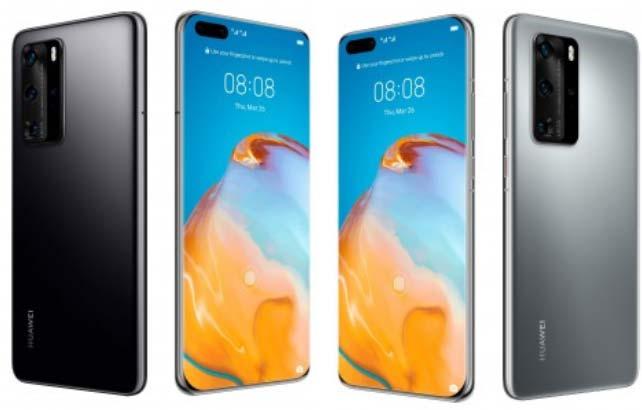 หลุด!! ภาพเรนเดอร์ Huawei P40 และ Huawei P40 Pro อย่างเป็นทางการ
