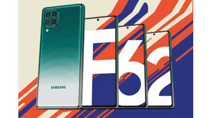 Samsung เปิดตัว Galaxy F62 อย่างเป็นทางการในประเทศอินเดีย มาพร้อมกับชิปเซ็ต Exynos 9825 และแบตเตอรี่ 7,000 mAh ในราคาเป็นมิตรเริ่มต้นไม่ถึงหมื่น