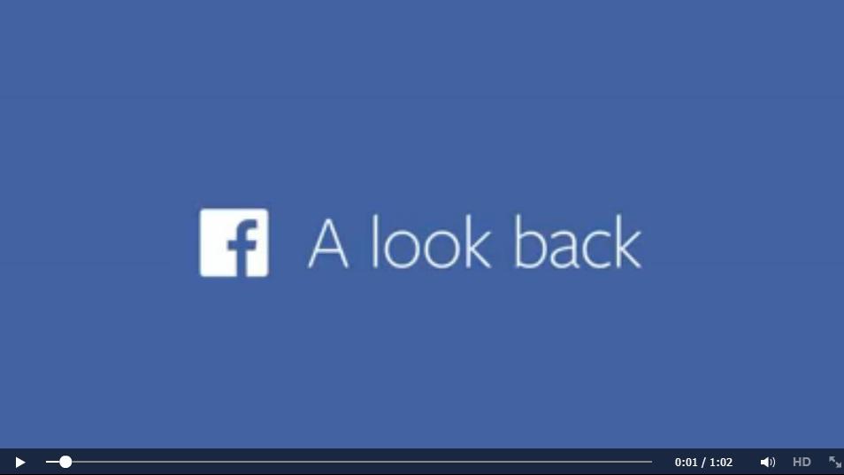 รื้อฟื้นความทรงจำดีๆ กับ Facebook Lookback
